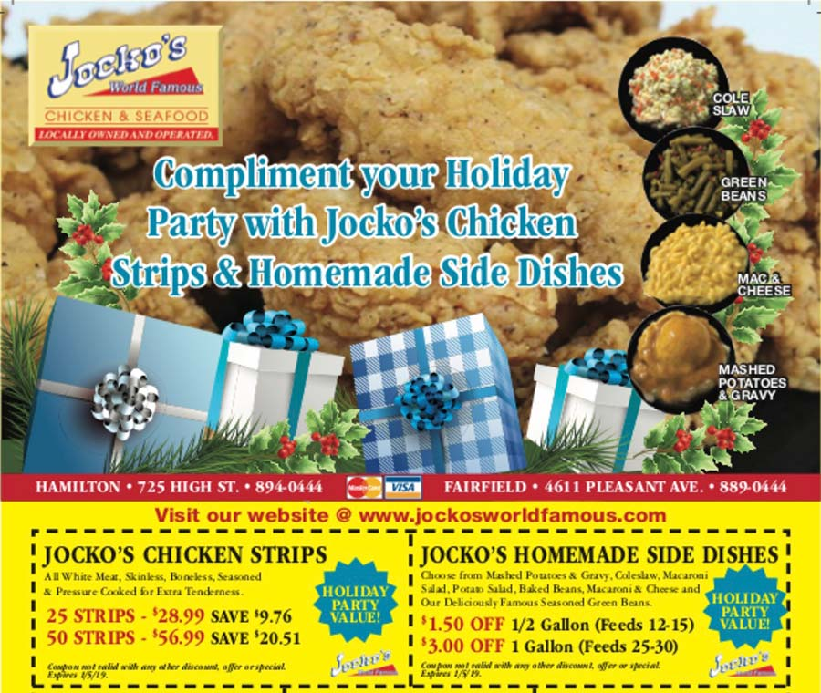 Jocko's World Famous Chicken & Seafood Chicken Strips Holiday Special